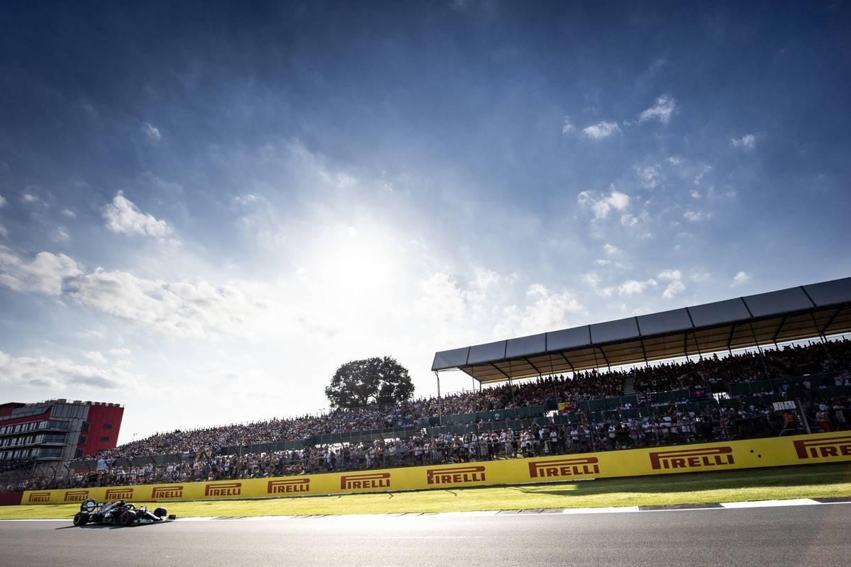 Lewis Hamilton (GBR) Mercedes AMG F1 W12. 17.07.2021. Formula 1 World Championship, Rd 10, British Grand Prix, Silverstone