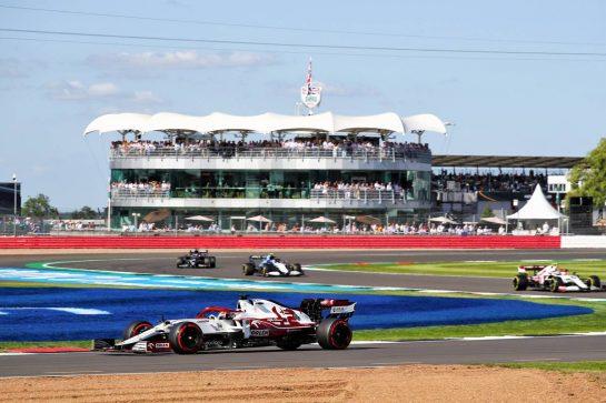 Kimi Raikkonen (FIN) Alfa Romeo Racing C41. 17.07.2021. Formula 1 World Championship, Rd 10, British Grand Prix, Silverstone, England, Qualifying Day.  - www.xpbimages.com, EMail: requests@xpbimages.com © Copyright: Davenport / XPB Images