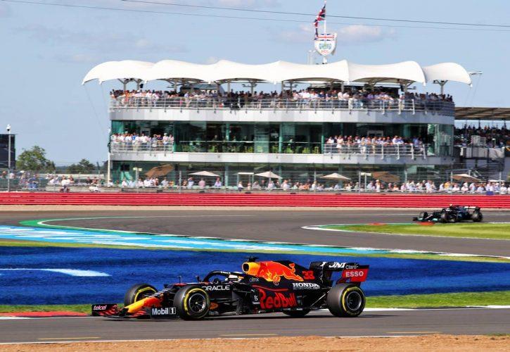 Max Verstappen (NLD) Red Bull Racing RB16B. 17.07.2021. Formula 1 World Championship, Rd 10, British Grand Prix, Silverstone