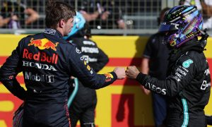 Verstappen clinches pole with first lap move on Hamilton