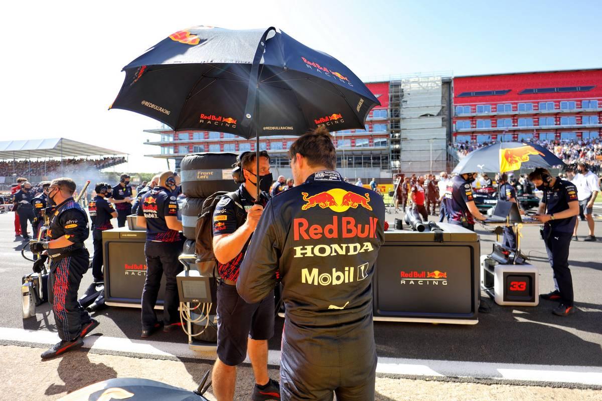 Max Verstappen (NLD) Red Bull Racing on the grid. 17.07.2021. Formula 1 World Championship, Rd 10, British Grand Prix, Silverstone