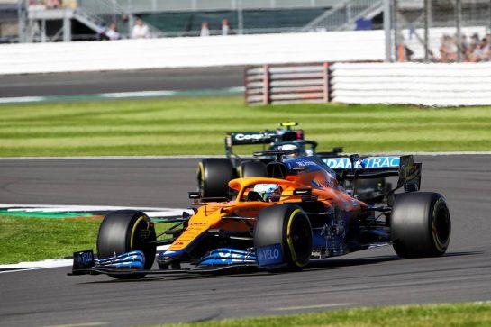 Daniel Ricciardo (AUS) McLaren MCL35M. 17.07.2021. Formula 1 World Championship, Rd 10, British Grand Prix, Silverstone, England, Qualifying Day.  - www.xpbimages.com, EMail: requests@xpbimages.com © Copyright: Davenport / XPB Images