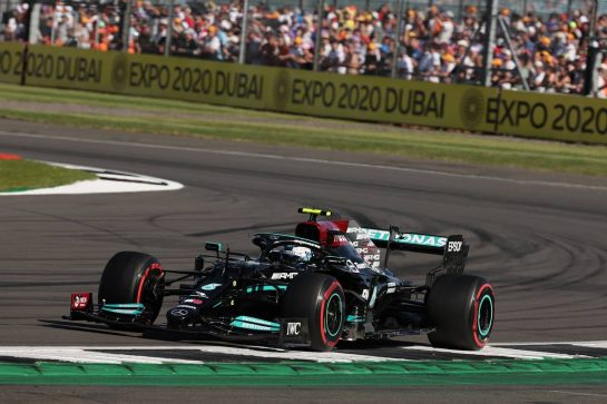 Valtteri Bottas (FIN) Mercedes AMG F1 W12.17.07.2021. Formula 1 World Championship, Rd 10, British Grand Prix, Silverstone, England, Qualifying Day.- www.xpbimages.com, EMail: requests@xpbimages.com © Copyright: Batchelor / XPB Images