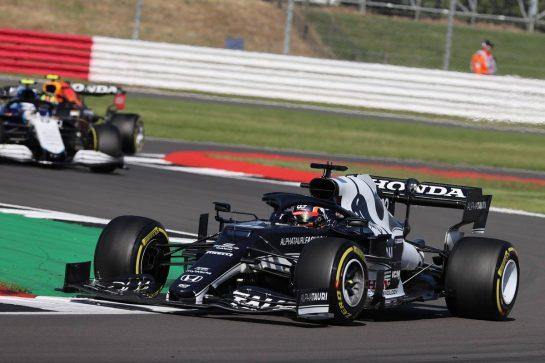 Yuki Tsunoda (JPN) AlphaTauri AT02.17.07.2021. Formula 1 World Championship, Rd 10, British Grand Prix, Silverstone, England, Qualifying Day.- www.xpbimages.com, EMail: requests@xpbimages.com © Copyright: Batchelor / XPB Images