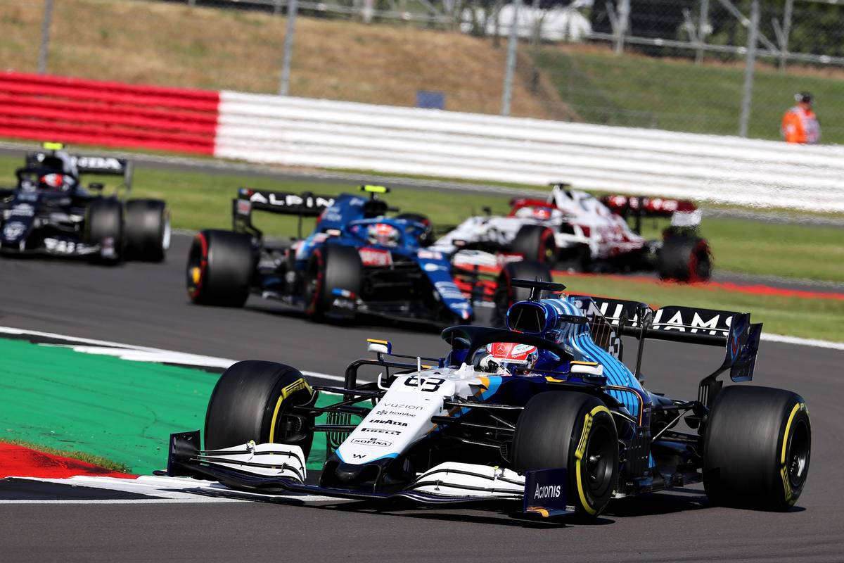 George Russell (GBR) Williams Racing FW43B. 17.07.2021. Formula 1 World Championship, Rd 10, British Grand Prix, Silverstone