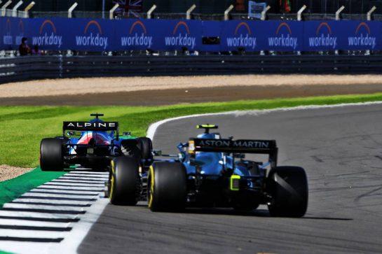 Fernando Alonso (ESP) Alpine F1 Team A521. 17.07.2021. Formula 1 World Championship, Rd 10, British Grand Prix, Silverstone, England, Qualifying Day.  - www.xpbimages.com, EMail: requests@xpbimages.com © Copyright: Davenport / XPB Images
