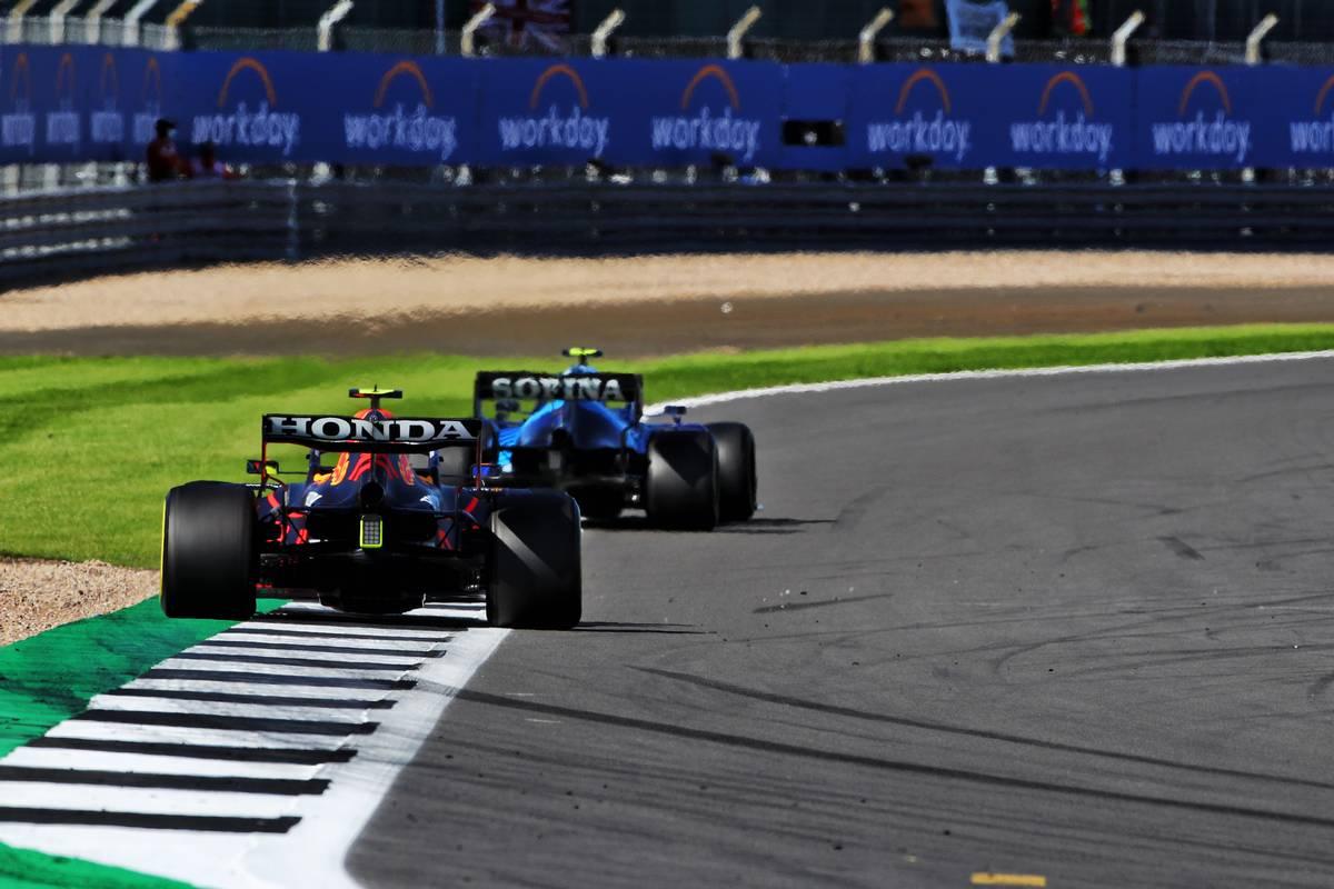 Sergio Perez (MEX) Red Bull Racing RB16B. 17.07.2021. Formula 1 World Championship, Rd 10, British Grand Prix, Silverstone