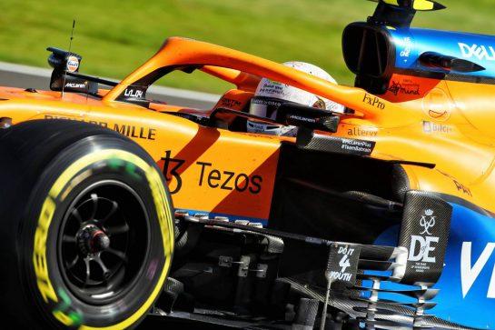 Lando Norris (GBR) McLaren MCL35M. 17.07.2021. Formula 1 World Championship, Rd 10, British Grand Prix, Silverstone, England, Qualifying Day.  - www.xpbimages.com, EMail: requests@xpbimages.com © Copyright: Davenport / XPB Images