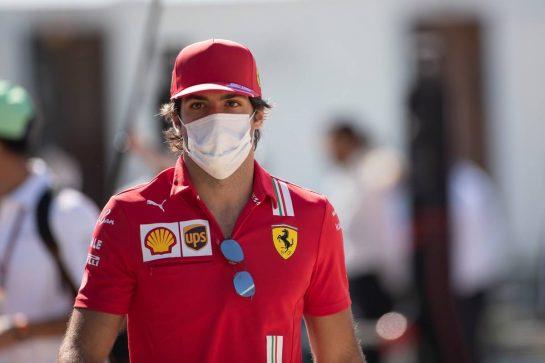 Carlos Sainz Jr (ESP) Ferrari. 18.07.2021. Formula 1 World Championship, Rd 10, British Grand Prix, Silverstone, England, Race Day. - www.xpbimages.com, EMail: requests@xpbimages.com © Copyright: Staley / XPB Images