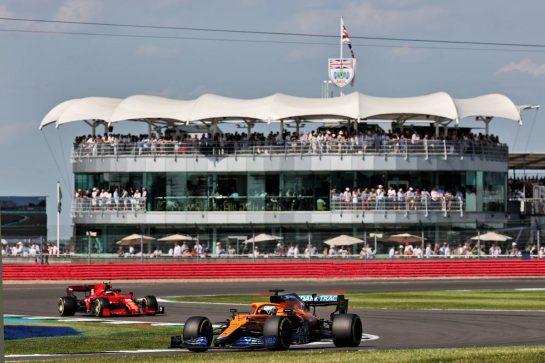 Daniel Ricciardo (AUS) McLaren MCL35M. 18.07.2021. Formula 1 World Championship, Rd 10, British Grand Prix, Silverstone, England, Race Day. - www.xpbimages.com, EMail: requests@xpbimages.com © Copyright: Batchelor / XPB Images
