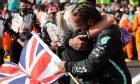 1st place Lewis Hamilton (GBR) Mercedes AMG F1 W12. 18.07.2021. Formula 1 World Championship, Rd 10, British Grand Prix, Silverstone