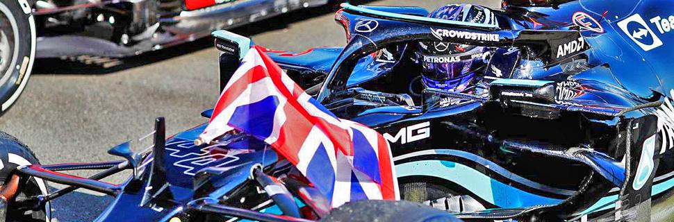Race winner Lewis Hamilton (GBR) Mercedes AMG F1 W12 celebrates in parc ferme. 18.07.2021. Formula 1 World Championship, Rd 10, British Grand Prix, Silverstone