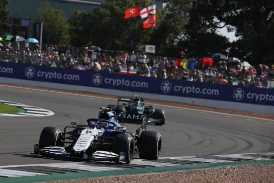 Nicholas Latifi (CDN) Williams Racing FW43B.18.07.2021. Formula 1 World Championship, Rd 10, British Grand Prix, Silverstone, England, Race Day.- www.xpbimages.com, EMail: requests@xpbimages.com © Copyright: Batchelor / XPB Images