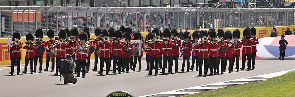 Marching band. 18.07.2021. Formula 1 World Championship, Rd 10, British Grand Prix, Silverstone