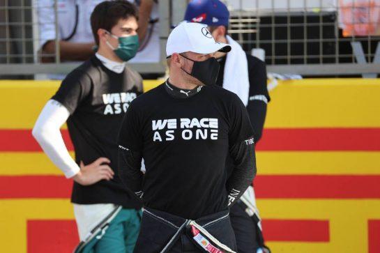 Valtteri Bottas (FIN) Mercedes AMG F1 W12.18.07.2021. Formula 1 World Championship, Rd 10, British Grand Prix, Silverstone, England, Race Day.- www.xpbimages.com, EMail: requests@xpbimages.com © Copyright: Batchelor / XPB Images