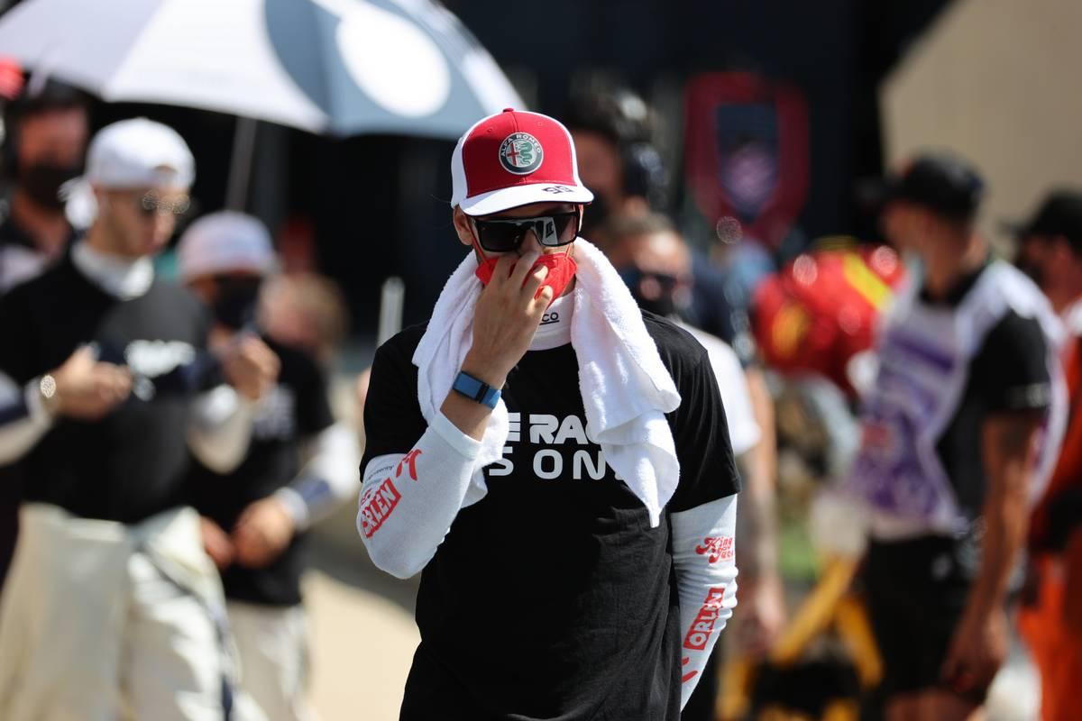 Antonio Giovinazzi (ITA) Alfa Romeo Racing C41. 18.07.2021. Formula 1 World Championship, Rd 10, British Grand Prix, Silverstone