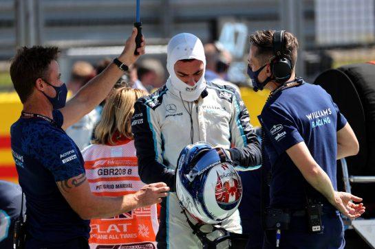Nicholas Latifi (CDN) Williams Racing.18.07.2021. Formula 1 World Championship, Rd 10, British Grand Prix, Silverstone, England, Race Day.- www.xpbimages.com, EMail: requests@xpbimages.com © Copyright: Batchelor / XPB Images