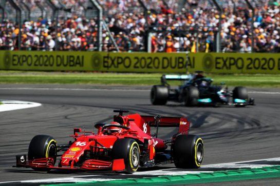 Charles Leclerc (MON) Ferrari SF-21. 18.07.2021. Formula 1 World Championship, Rd 10, British Grand Prix, Silverstone, England, Race Day.  - www.xpbimages.com, EMail: requests@xpbimages.com © Copyright: Davenport / XPB Images