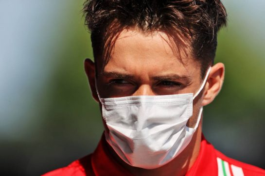 Charles Leclerc (MON) Ferrari. 29.07.2021. Formula 1 World Championship, Rd 11, Hungarian Grand Prix, Budapest, Hungary, Preparation Day. - www.xpbimages.com, EMail: requests@xpbimages.com © Copyright: Moy / XPB Images
