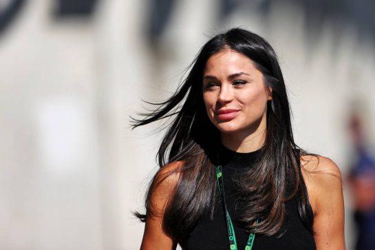 Sandra Dziwiszek (POL), girlfriend of Nicholas Latifi (CDN) Williams Racing.  30.07.2021. Formula 1 World Championship, Rd 11, Hungarian Grand Prix, Budapest, Hungary, Practice Day. - www.xpbimages.com, EMail: requests@xpbimages.com © Copyright: Moy / XPB Images