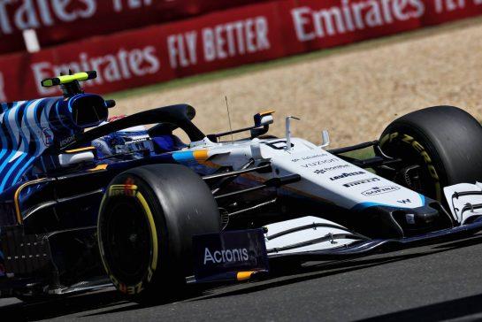Nicholas Latifi (CDN) Williams Racing FW43B. 30.07.2021. Formula 1 World Championship, Rd 11, Hungarian Grand Prix, Budapest, Hungary, Practice Day. - www.xpbimages.com, EMail: requests@xpbimages.com © Copyright: Batchelor / XPB Images