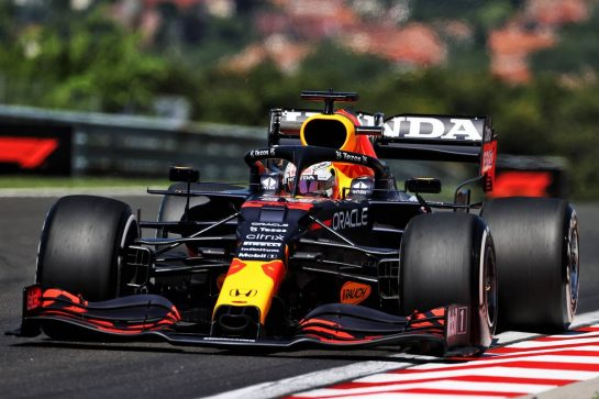 Max Verstappen (NLD) Red Bull Racing RB16B. 30.07.2021. Formula 1 World Championship, Rd 11, Hungarian Grand Prix, Budapest, Hungary, Practice Day. - www.xpbimages.com, EMail: requests@xpbimages.com © Copyright: Moy / XPB Images