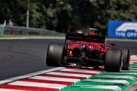 Carlos Sainz Jr (ESP) Ferrari SF-21. 30.07.2021. Formula 1 World Championship, Rd 11, Hungarian Grand Prix, Budapest, Hungary, Practice Day. - www.xpbimages.com, EMail: requests@xpbimages.com © Copyright: Batchelor / XPB Images