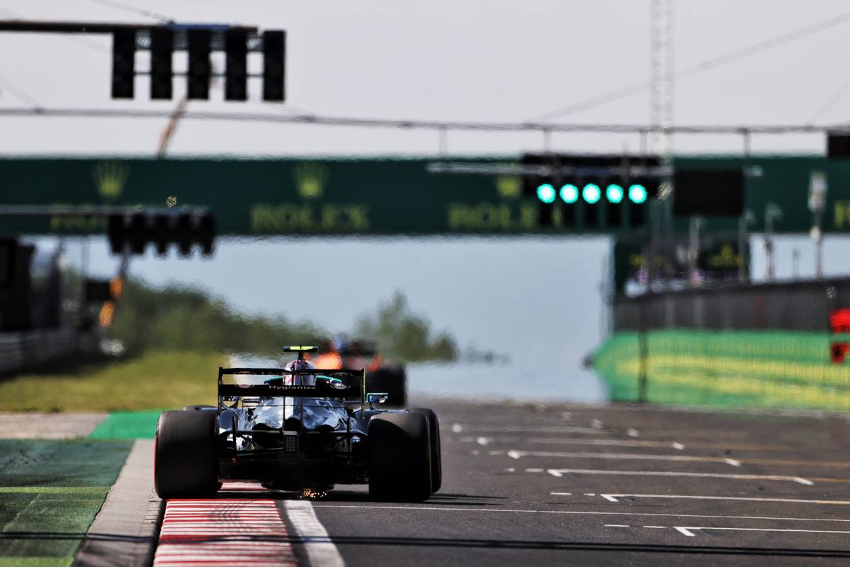 2021 Hungarian Grand Prix Free Practice 2 - Results