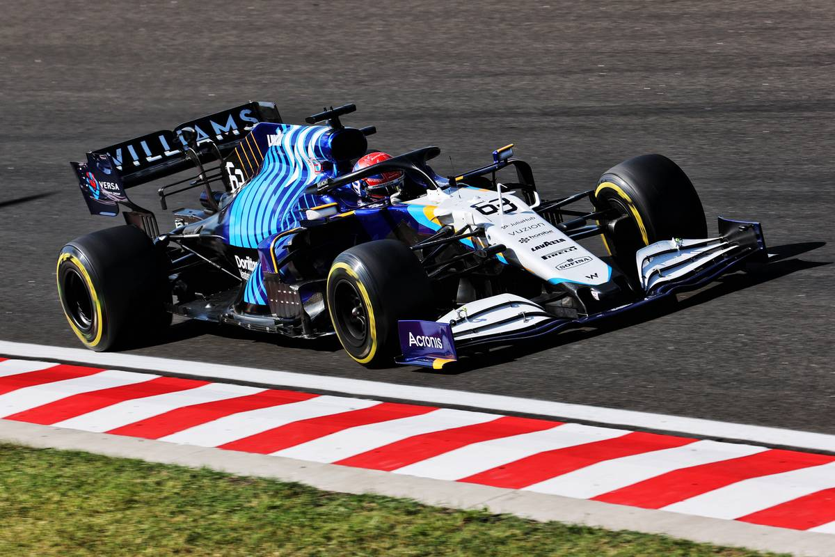 George Russell (GBR) Williams Racing FW43B. 30.07.2021. Formula 1 World Championship, Rd 11, Hungarian Grand Prix, Budapest