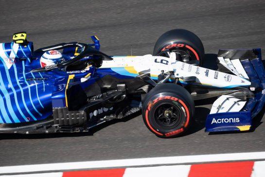 Nicholas Latifi (CDN) Williams Racing FW43B. 31.07.2021. Formula 1 World Championship, Rd 11, Hungarian Grand Prix, Budapest, Hungary, Qualifying Day. - www.xpbimages.com, EMail: requests@xpbimages.com © Copyright: Bearne / XPB Images