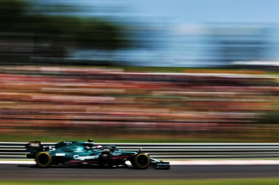 Sebastian Vettel (GER) Aston Martin F1 Team AMR21. 31.07.2021. Formula 1 World Championship, Rd 11, Hungarian Grand Prix, Budapest, Hungary, Qualifying Day. - www.xpbimages.com, EMail: requests@xpbimages.com © Copyright: Batchelor / XPB Images