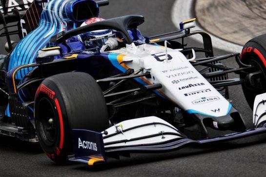 Nicholas Latifi (CDN) Williams Racing FW43B. 31.07.2021. Formula 1 World Championship, Rd 11, Hungarian Grand Prix, Budapest, Hungary, Qualifying Day. - www.xpbimages.com, EMail: requests@xpbimages.com © Copyright: Batchelor / XPB Images