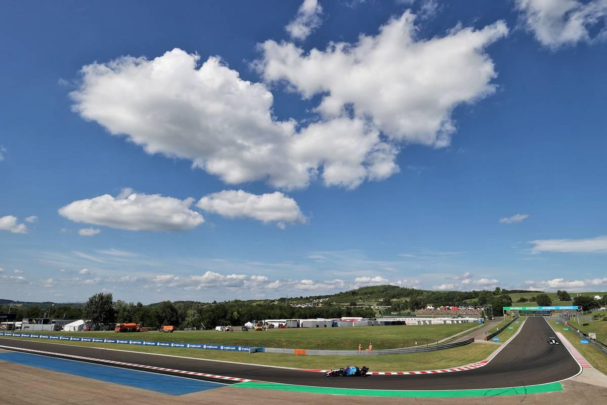 George Russell (GBR) Williams Racing FW43B. 31.07.2021. Formula 1 World Championship, Rd 11, Hungarian Grand Prix, Budapest