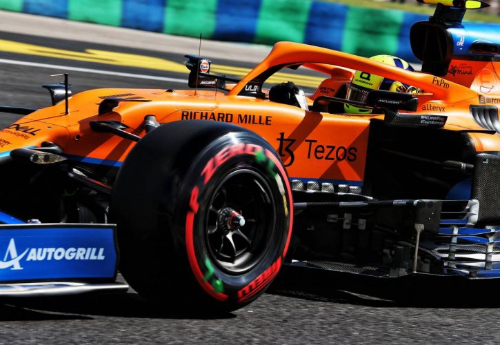 Lando Norris (GBR) McLaren MCL35M. 31.07.2021. Formula 1 World Championship, Rd 11, Hungarian Grand Prix, Budapest