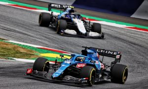 Alonso 'felt a bit sad' for Russell after snatching P10