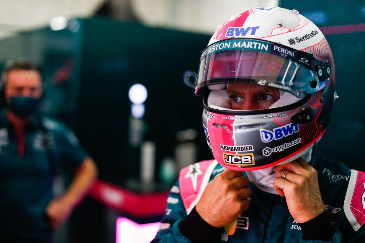 Sebastian Vettel, Aston Martin, at the Austrian Grand Prix. Friday July 2 2021, Spielberg,