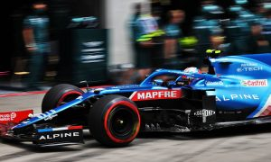 Alpine supplies Ocon with new chassis for Silverstone