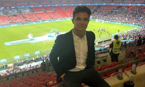 Norris mugged at Wembley Stadium after Euro 2020 final!