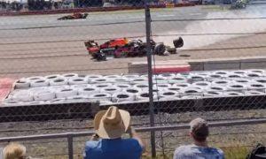 Max Verstappen accident - 2021 British Grand Prix