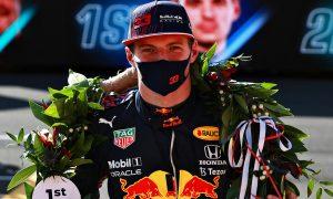 Clinching pole felt 'a bit funny' to Verstappen