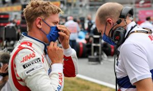 Schumacher still learning, but growing 'stronger and stronger'
