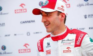 Kubica in action with Alfa in FP1 in Hungary