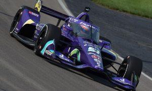 Grosjean enjoys 'pump of adrenaline' maiden oval test