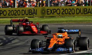 Sainz doesn't like getting 'stuck' behind a McLaren