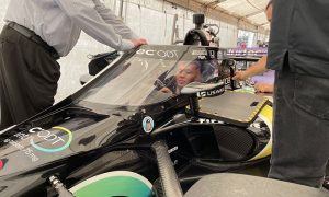Albon visits Indianapolis with a view to 2022
