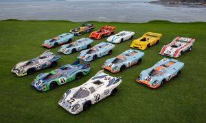 A picture-perfect Porsche 917 family reunion
