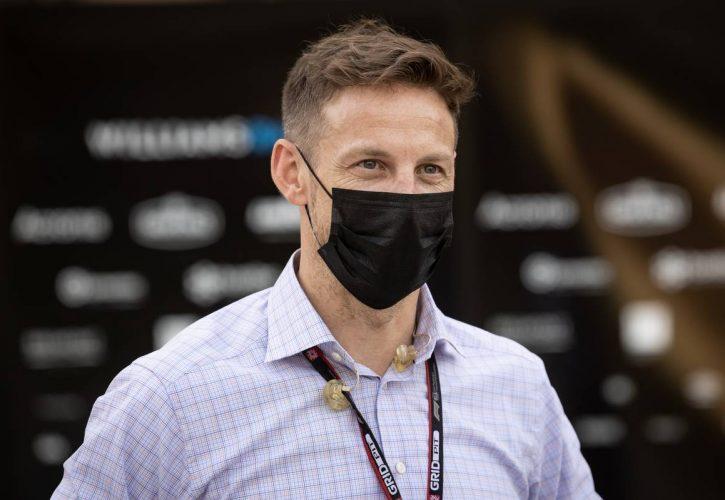 Jenson Button (GBR) Sky Sports F1 Presenter / Williams Racing Senior Advisor. 26.03.2021. Formula 1 World Championship, Rd 1, Bahrain Grand Prix, Sakhir, Bahrain