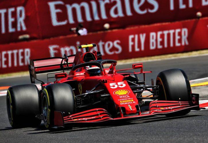 Carlos Sainz Jr (ESP) Ferrari SF-21. 30.07.2021. Formula 1 World Championship, Rd 11, Hungarian Grand Prix, Budapest, Hungary