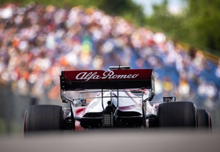 Kimi Raikkonen (FIN) Alfa Romeo Racing C41. 31.07.2021. Formula 1 World Championship, Rd 11, Hungarian Grand Prix, Budapest, Hungary