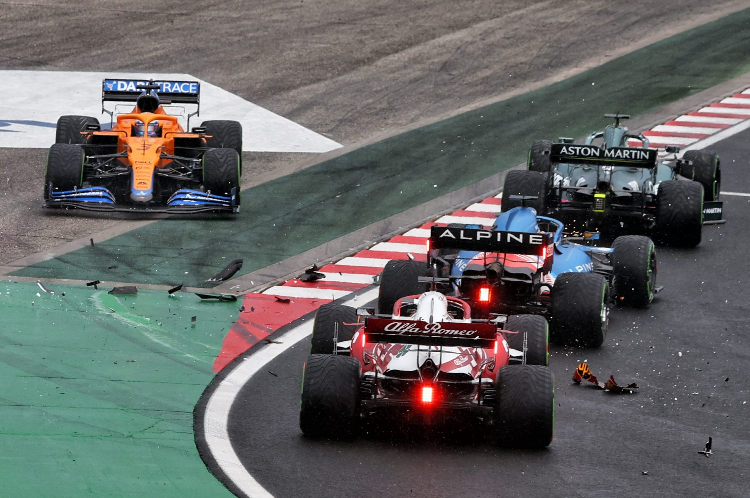Ricciardo reckons he 'could have been up there' in Hungary
